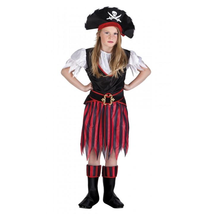 Déguisement Pirate fille annie 7/9ans