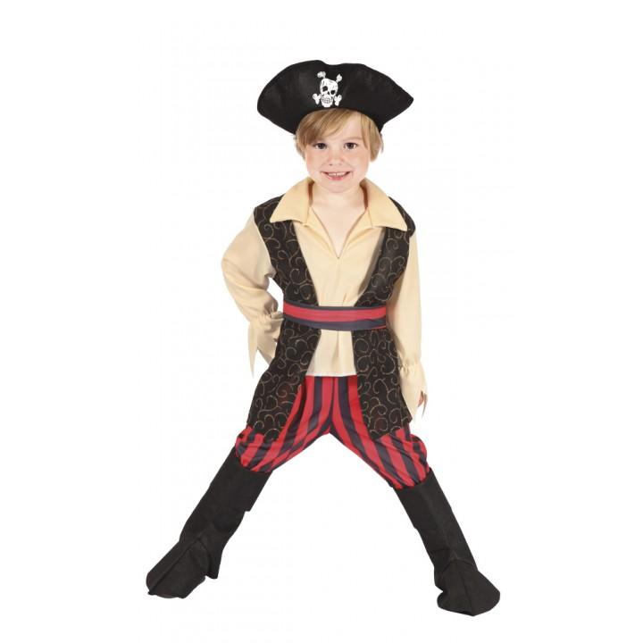 Déguisement Pirate Rocco garçon  3/4 ans