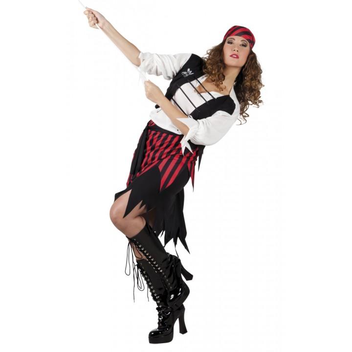 Déguisement Pirate Suzy femme