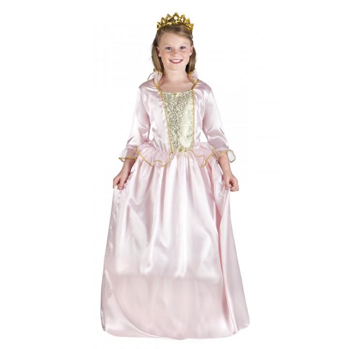 Déguisement  Princesse Rosaline  fille rose