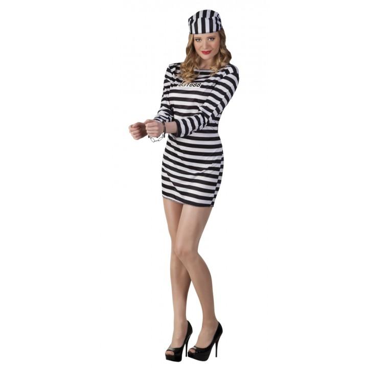 Déguisement Prisonnière sexy femme