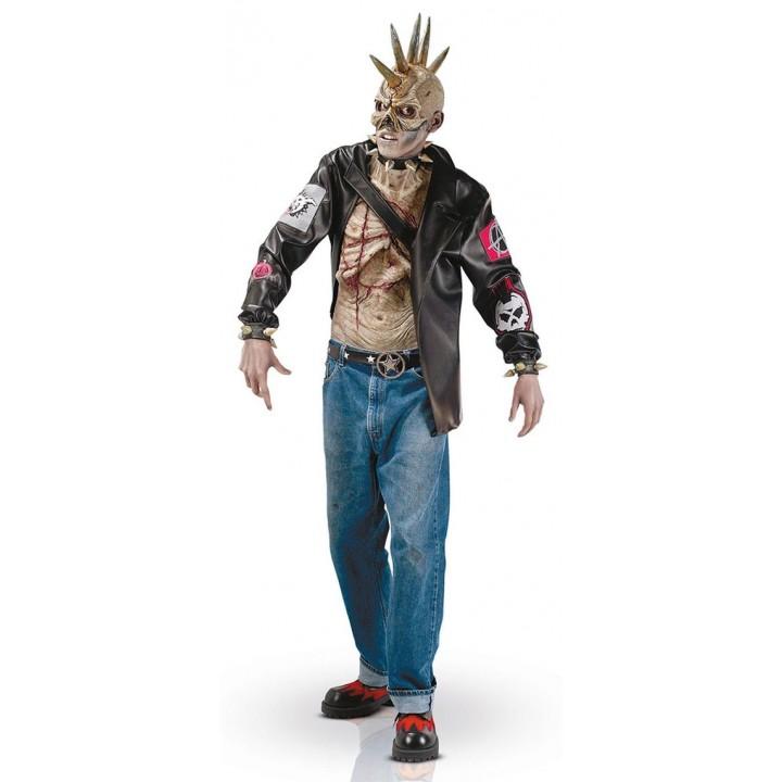 Déguisement Punk zombie