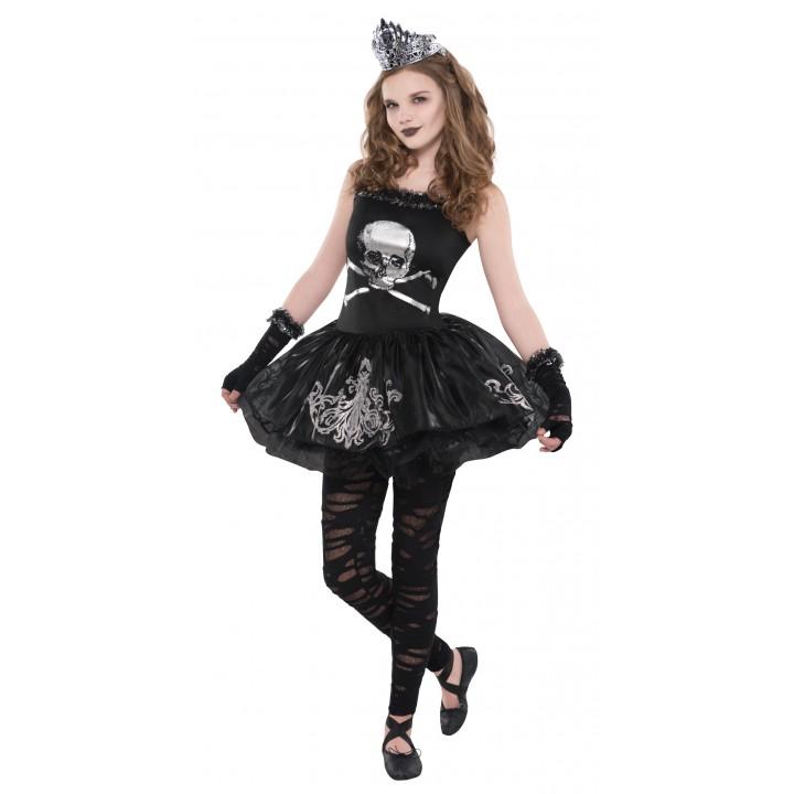 Deguisement Robe Tete De Mort Halloween