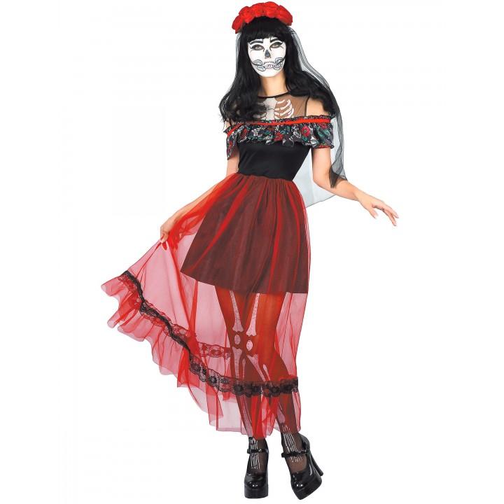 Déguisement Senõrita Jour des morts Halloween