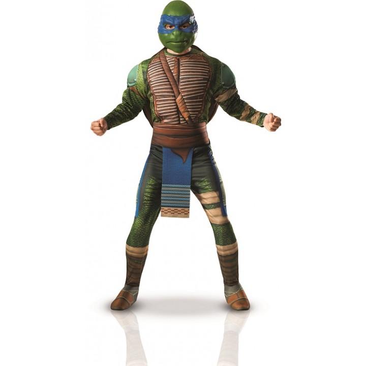 Déguisement Tortue Ninja Léonardo adulte