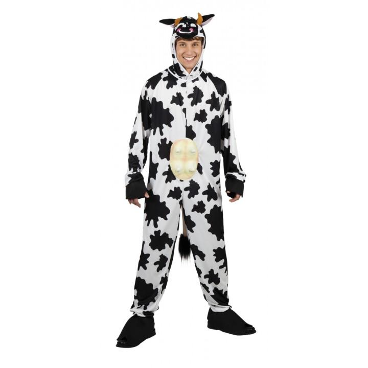 Déguisement Vache avec pis homme