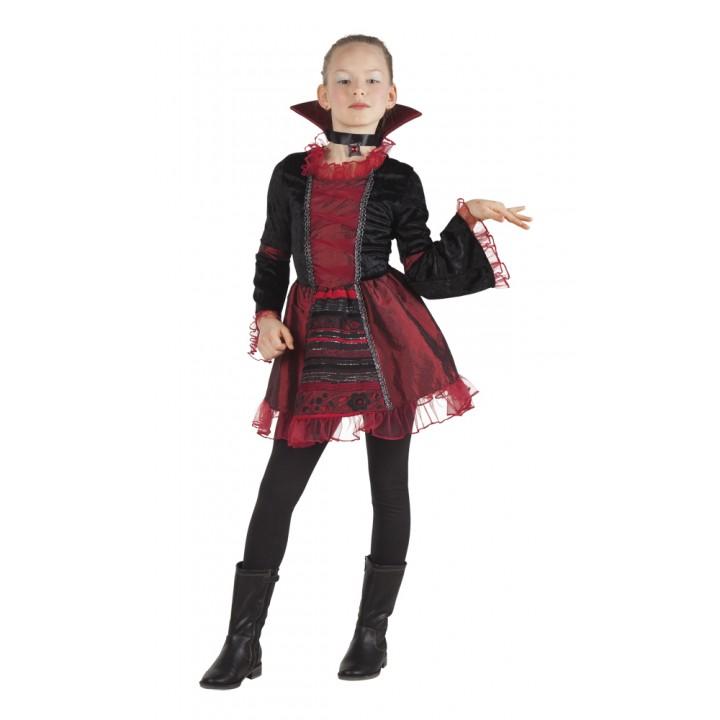 Déguisement vampire Empress Halloween fille