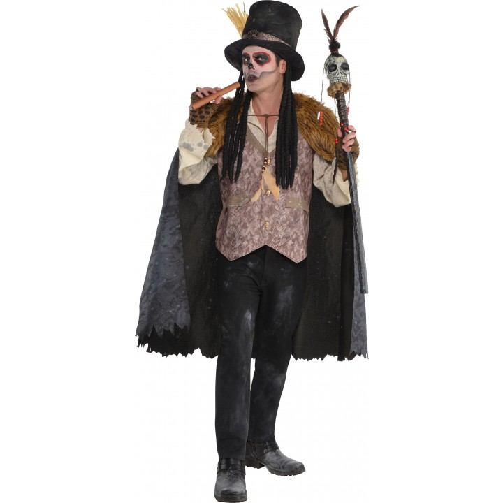 Déguisement Vaudou Witch Doctor  Halloween homme