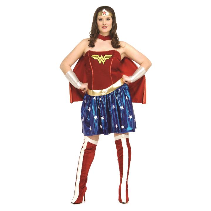 Déguisement Wonderwoman adulte taille XL