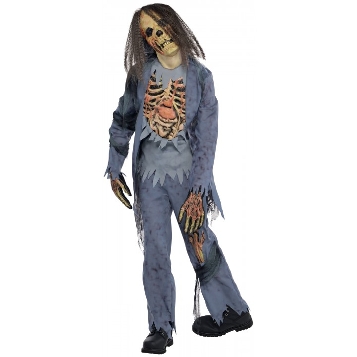 costume halloween zombie gar on d guisement halloween en. Black Bedroom Furniture Sets. Home Design Ideas