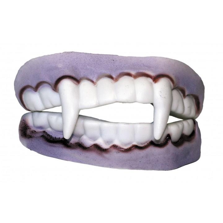 Dentier de vampire double