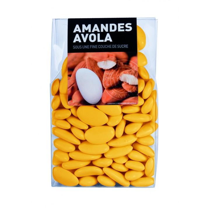 Dragées Amande Avola Bouton d'or  450 gr