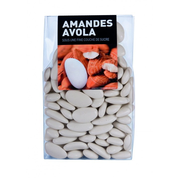 Dragées Amande Avola Ecru  450 gr