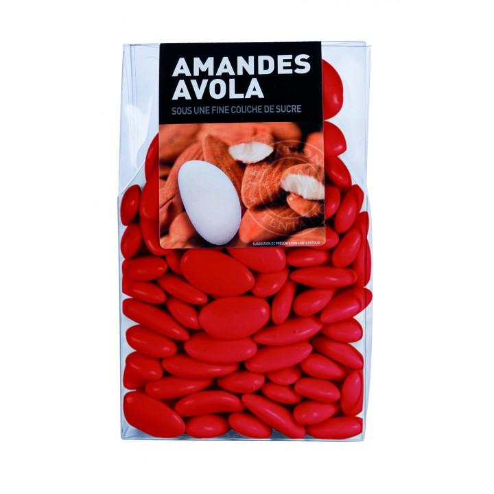 Dragées Amande Avola Rouge  450 gr