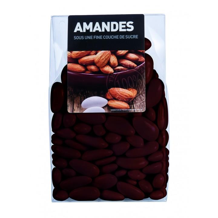 Dragées Amande Longuette Chocolat  450 gr