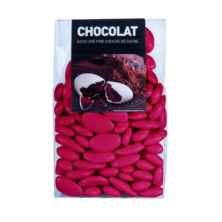 Dragées chocolat Framboise  500 gr