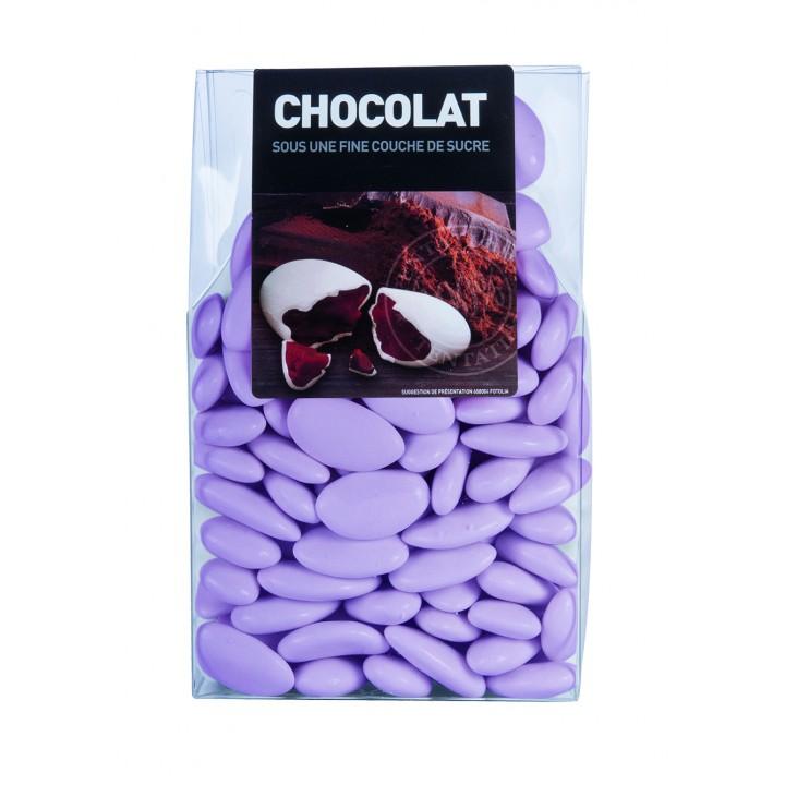 Dragées chocolat Lilas 500gr