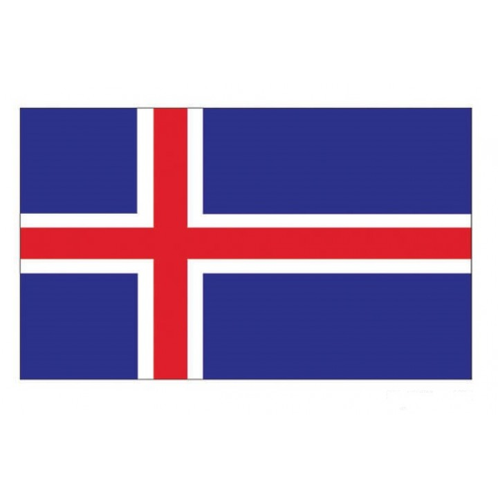 Drapeau Islande 150  90 cm