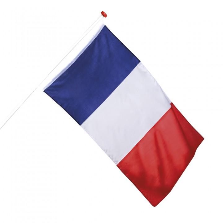 Drapeau tricolore 90 x 150 cm
