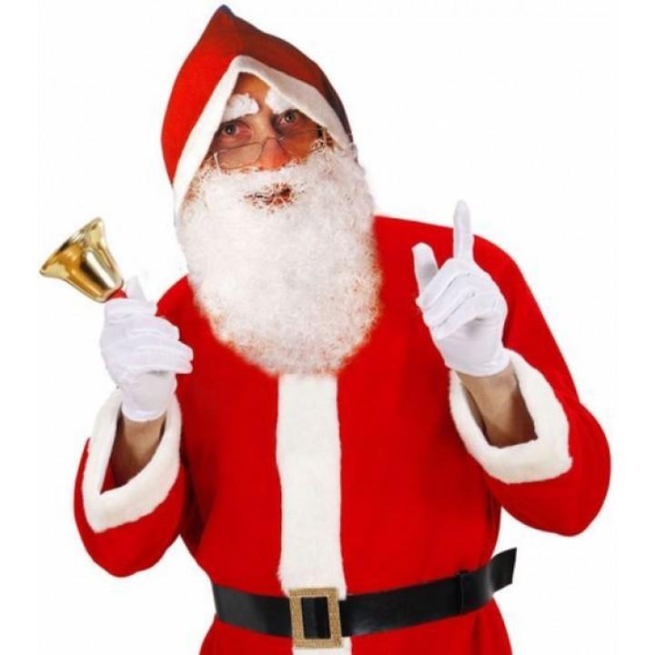 Ensemble Barbe et sourcils de Père Noël