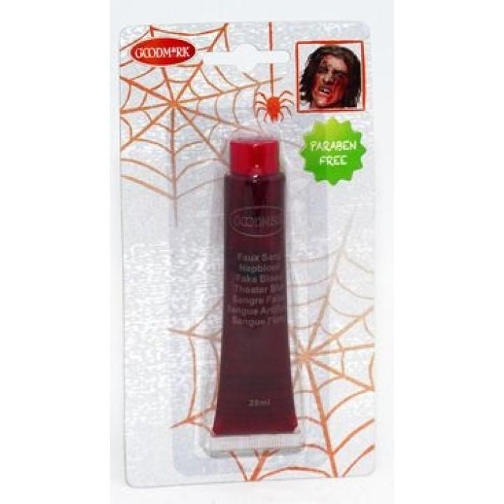 Faux sang en tube  halloween