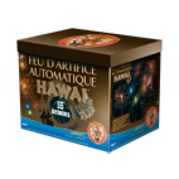 Feu d'artifice compact Hawaï 28 coups- mini feu automatique