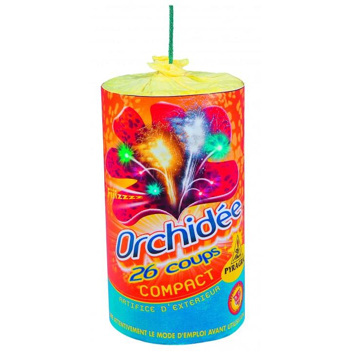 Feu d'artifice compact Orchidée 26 coups