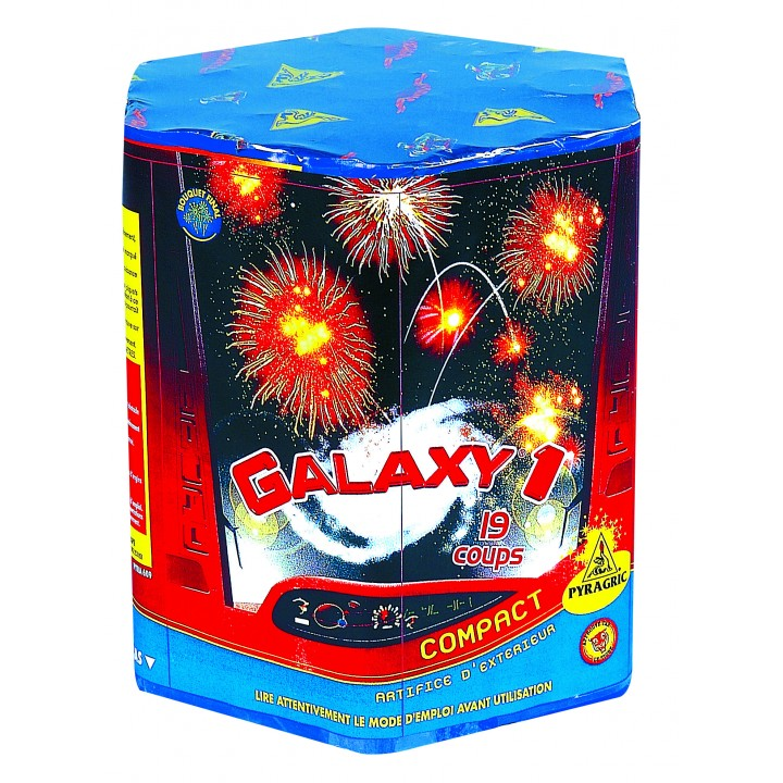 Feux d'artifice compact Galaxy I  19 coups