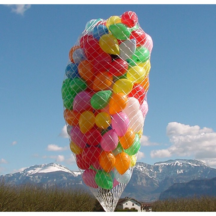 Filet raphia lacher de ballon 300/400 ballons