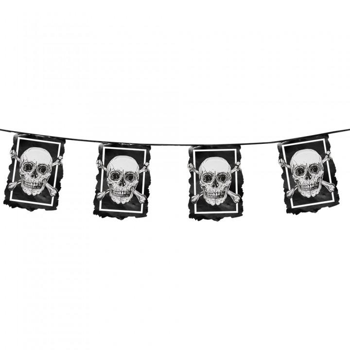 Guirlande fanions anniversaire pirate