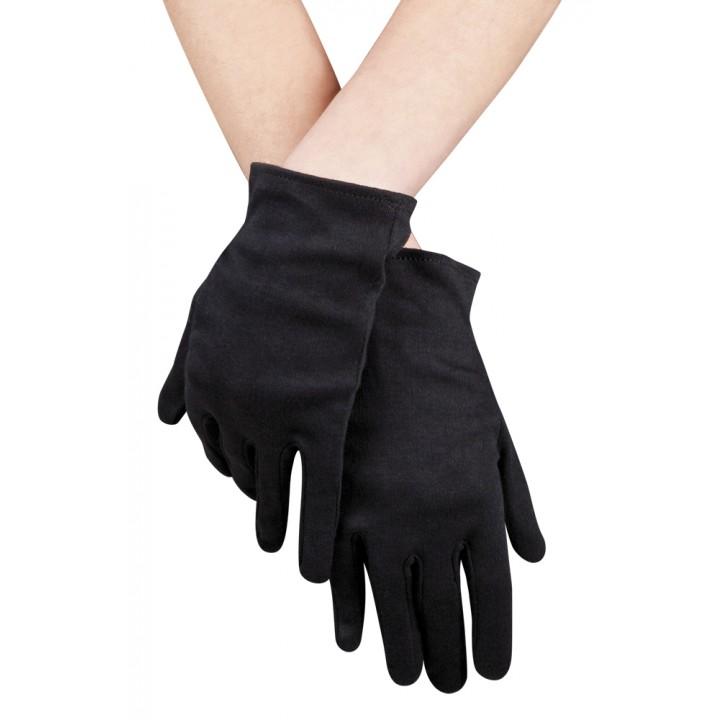 c59540c91552f Gants noirs cotons