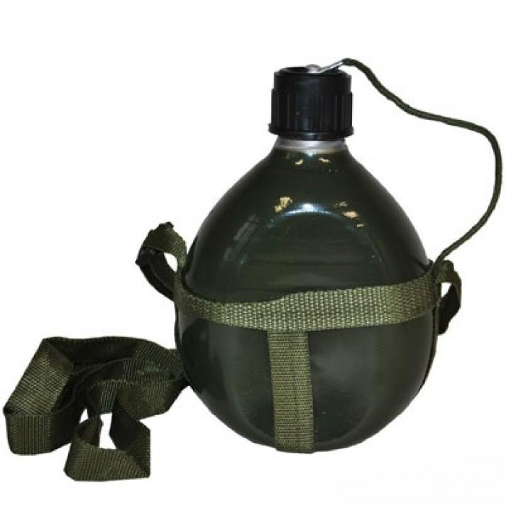 Gourde métal militaire 18 cm