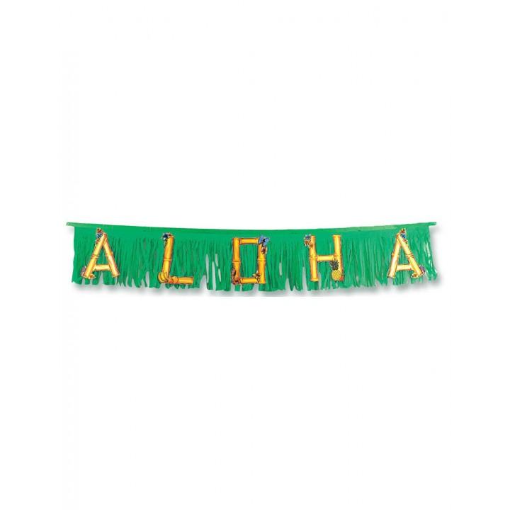 Guirlande Aloha fuschia 47 cm