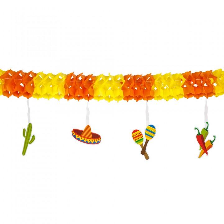 Guirlande Fiesta Mexicaine 140 cm