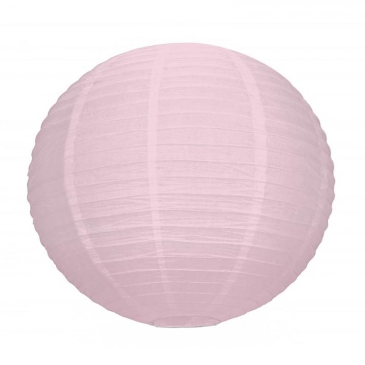 Lanterne rose dégradé en papier 35 cm