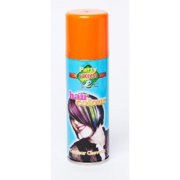 Laque cheveux orange en spray 125 ml