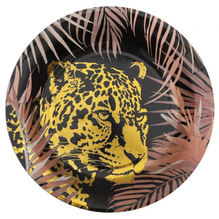 Lot de 10 assiettes  Jungle 22,5 cm