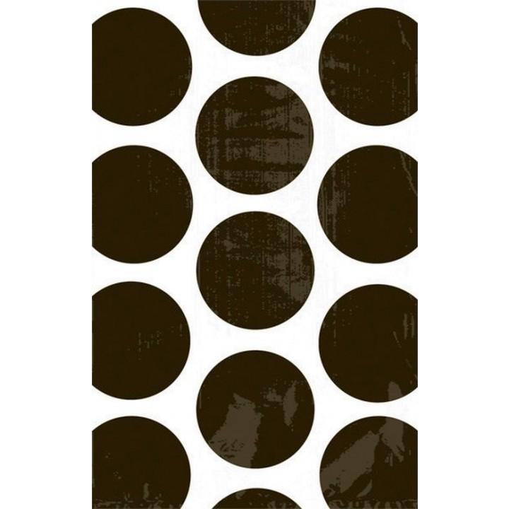 Lot de 10 sachets transparent à pois noirs