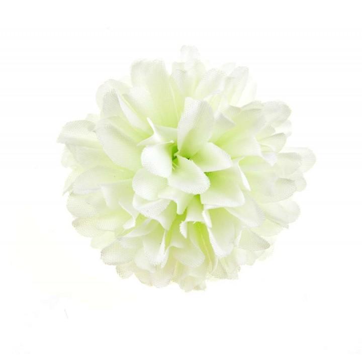 Lot de 2 fleurs blanches Mum