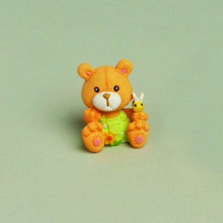Lot de 2 mini-oursons 4 cm