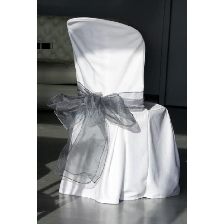 Lot de 2 Nœuds de chaise gris 22 cm x  3 m
