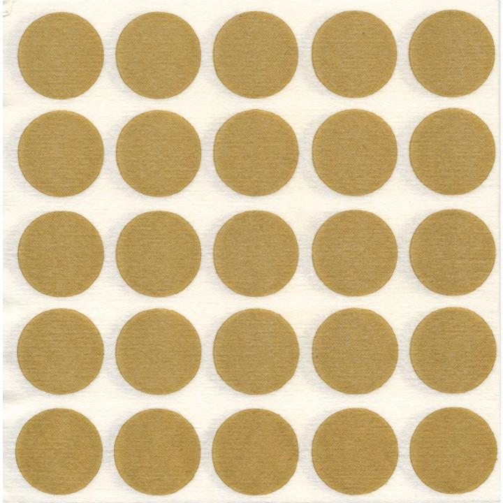 Lot de 20 Serviettes intissé Pop or 40 x 40 cm