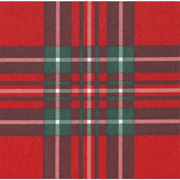 5cd4fda2051b1 Lot de 20 serviettes papier intissé écossais rouge 25 x 25 cm