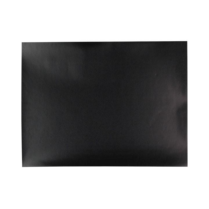Lot de 5 stickers Ardoise rectangulaire noir 23 x 33 cm