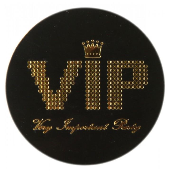 Lot de 50 confettis VIP noirs