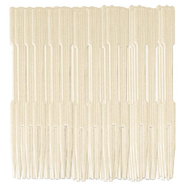 Lot de 50 fourchettes bambou jetables 8,8 cm