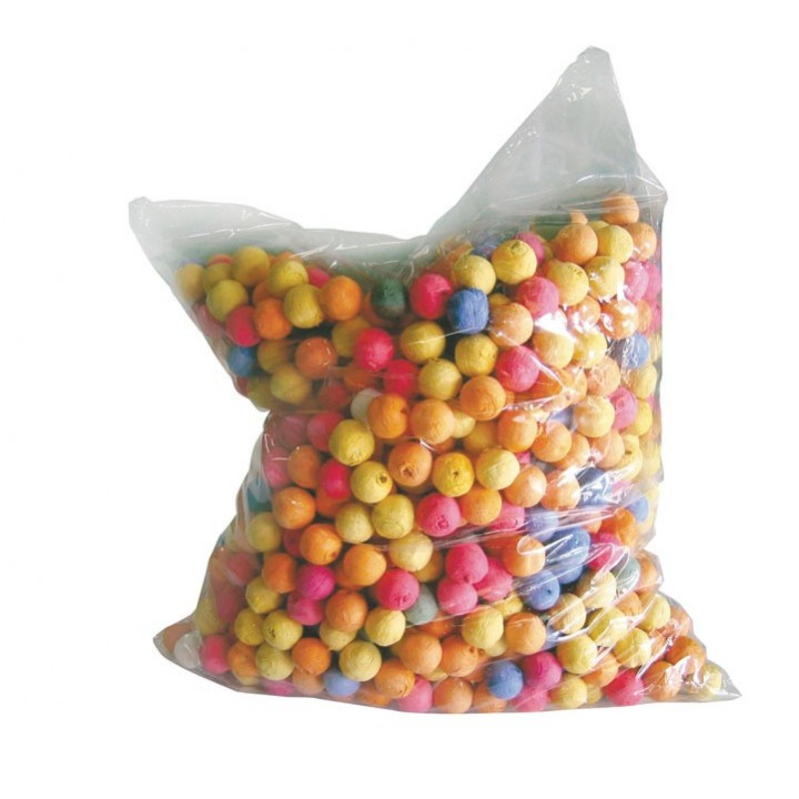 Lot de 500 Boules dancing multicolores