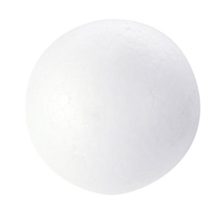 Lot de 6 boules polystyrène D 5 cm