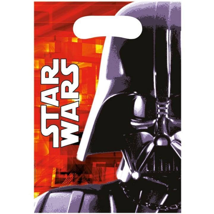 Lot de 6 sachets-cadeaux Star Wars VII