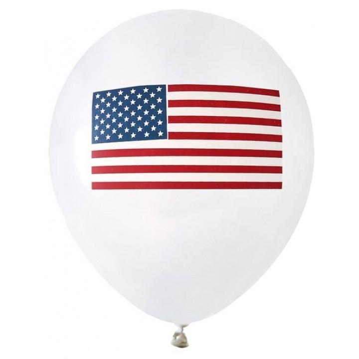 Lot de 8 ballons Amérique